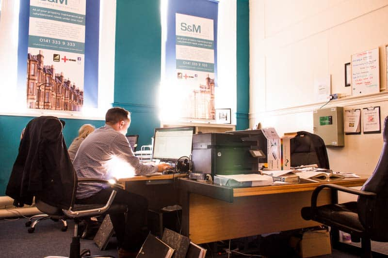 small office space glasgow